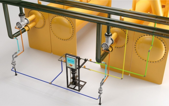 Automatic Condenser Cleaning System For Chillers